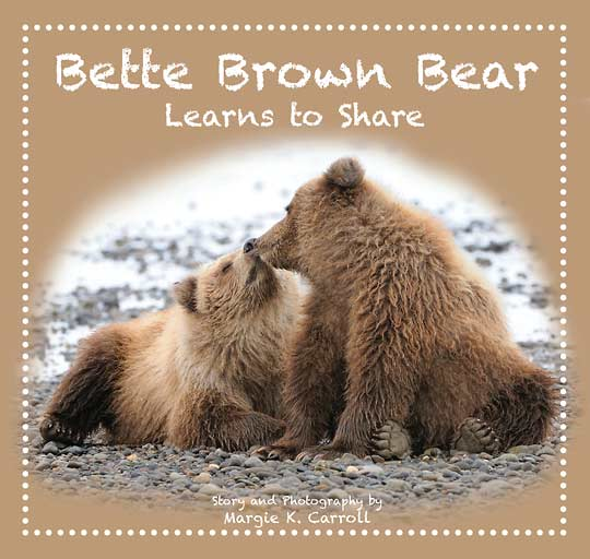 Bette Brown Bear Learns To Chare Cover Childrens Book Cover