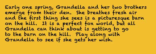 grandella the gray fox story